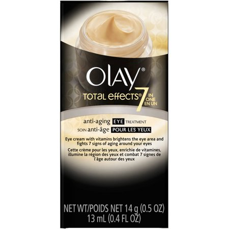 Olay Total Effects 7-in-1 Anti-âge Transforming Crème Contour des Yeux, .5 oz