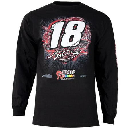 Kyle Busch   18 Gear Up Adult Long Sleeve T Shirt