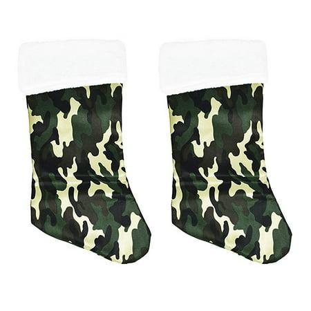 Camo Christmas Stocking (Christmas 18