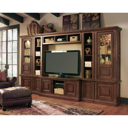 Ashley Furniture Signature Design By Gaylon Burnished Brown Entertainment Center
