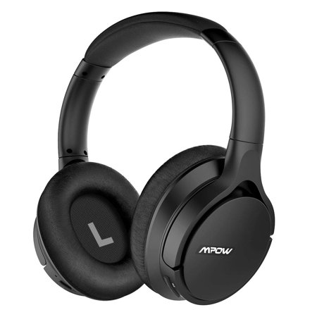 Mpow [Upgraded] H4 4.2 Bluetooth Headphones Over Ear, 30hrs Comfortable Wireless Headphones with Equalizer APP, APTX-HD Sound Low Latency Bluetooth Headset with w/Mic for Cellphone Tablet (Headphones With Equalizer)
