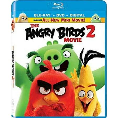 Angry Birds Seasons Halloween 2-13 3 Stars (The Angry Birds Movie 2 (Blu-ray + DVD + Digital)