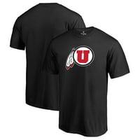 Utah Utes Fanatics Branded Primary Logo T-Shirt - Black