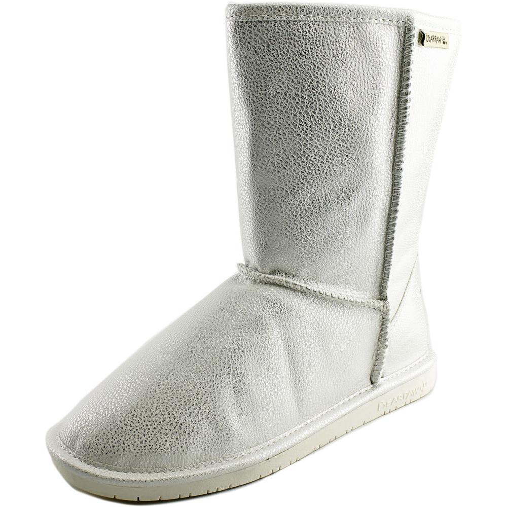 Bearpaw Emma Short Round Toe Leather Winter Boot by Bearpaw