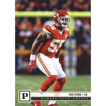 2018 Panini #150 Dee Ford Kansas City Chiefs Football Card (Glow City Football)
