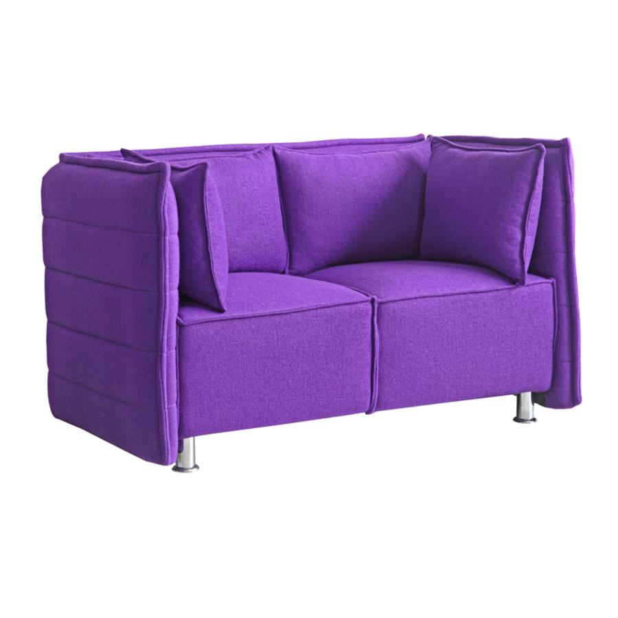 Fine Mod Imports Chesterfield Loveseat