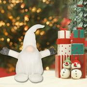 Pinkmall Santa Claus Tomte Long Hat Gnome Plush Doll Handmade Home Decor