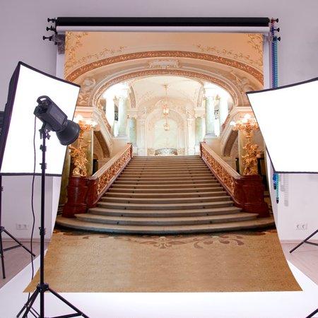 5X7ft Grand Wedding Palace Vinyl Photography Backdrops Photo Studio Props Background