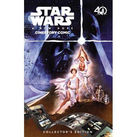 Star Wars: A New Hope Cinestory Comic : 40th Anniversary Collector's (Star Wars A New Hope Special Edition Comic)