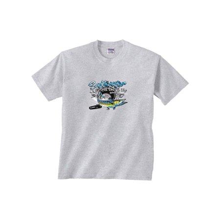 Wahoo Shorts - Wahoo Assassin Reel Fishing T-Shirt