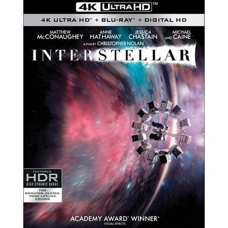 Interstellar (4K Ultra HD + Blu-ray + Digital HD) (VUDU Instawatch Included)