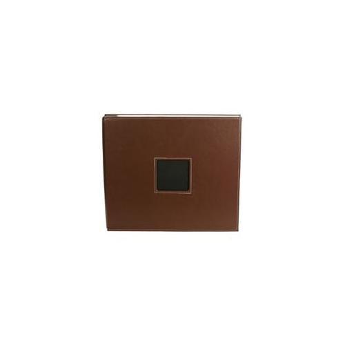 Alvin AC76086 Album 12x12post Leath Chestnut