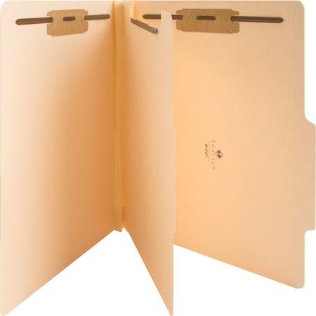 Folder Part (Business Source, BSN17271, 4-Part Manila Classification Folders, 10 / Box)