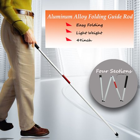 49 Quot Visually Impaired Folding Blind Cane Walking Stick