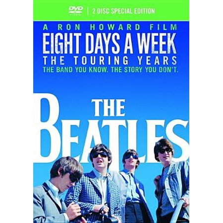 The Beatles Eight Days A Week: The Touring Years (DVD) (Halloween 1993 Day Of The Week)