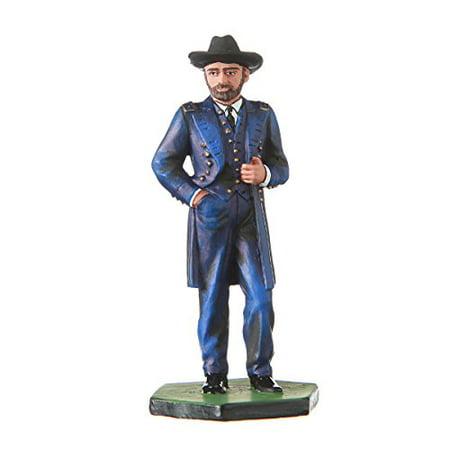 danila-souvenirs Tin Toy Soldier USA Civil war Northerners General Ulysses Grant Hand Painted Metal Sculpture Miniature Figurine 54mm #CW01 - image 1 de 1