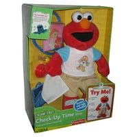 Sesame Street Check-Up Time Elmo Sound Effects Toy Plush