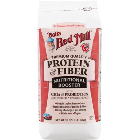 Bob's Red Mill Protein & Fiber Nutritional Booster Unflavored -- 16 ozBob's Red Mill Protein & Fiber Nutritional Booster Unflavored -- 16 oz pack of 1