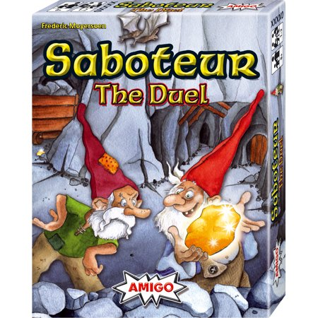 Saboteur The Duel 2-Player or Solitaire Strategy Card Game ()