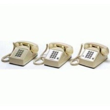 Cortelco Kellogg 2500 M-W Desk Mount Phone with Telephony Cords Ash with Vol (2500 Telephone)