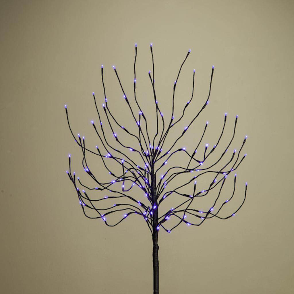 Gerson 21300 - 92411062 5.5' BLUE 4-IN-1 BUD TREE BLACK TRUNK Generic Home Office Tree