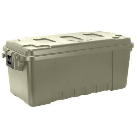 Plano 68-Quart Storage Tub, Green