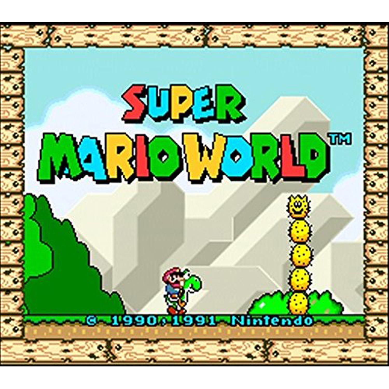 Super Mario World, Nintendo, WIIU, [Digital Download], 0004549666015