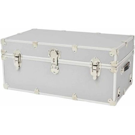 Rhino Large Armor Trunk - Silver Trunk Flight Case