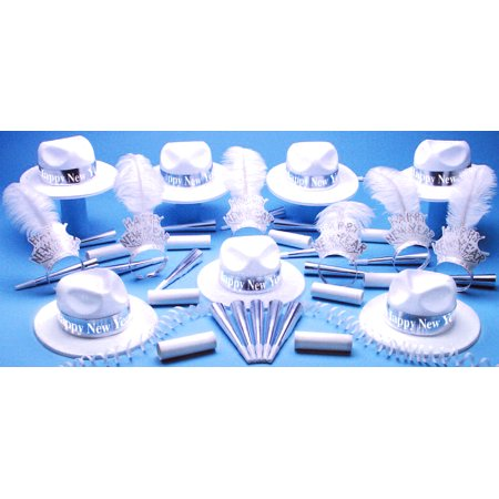 Silver Paradise Bay Party Kit Happy New Year for 50