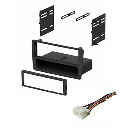 Audi Harness - ASC Audio Car Stereo Dash Kit and Wire Harness for installing an Aftermarket Single Din Radio for 2001 2002 2003 2004 2005 Honda Civic (excludes SI and SE models)