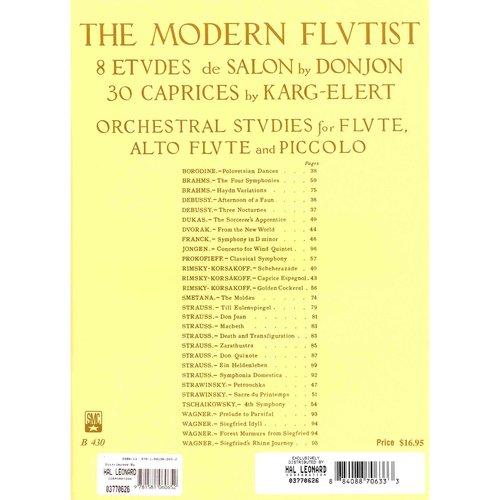 The Modern Flutist: 8 Etudes De Salon