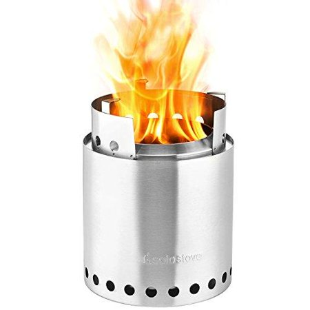 Solo Stove Campfire Eco-Friendly Wood Burning Lightweight Fast Efficient Durable ()