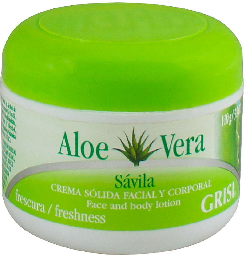 Grisi Aloe Vera Moisturizing Beauty Cream, 3.8 oz (Pack of 2)