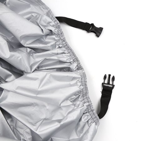 XXXL 190T Motorcycle Cover Outdoor Waterproof Rain Dust Protector Black Silver For Harley Davidson - image 3 of 7