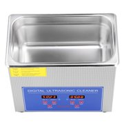 Hilitand Ultrasonic Watch Cleaner,Ultrasonic Cleaner,Stainless Steel 1.3L Digital Ultrasonic Cleaner Cleaning Tank With Timer And Heater For Jewelry