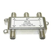 Digiwave 4 Way Splitter for 5 to 2400Mhz