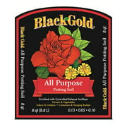 1310102 8-Quart All Purpose Potting Soil With Control, A slow-releaseWalmartplete fertilizer is added to give plants a strong start By Black Gold