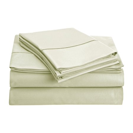 800 Collection (CHATEAU HOME COLLECTION 800-Thread-Count Egyptian Cotton Deep Pocket Sateen Weave Sheet Set (FULL, Mineral) )