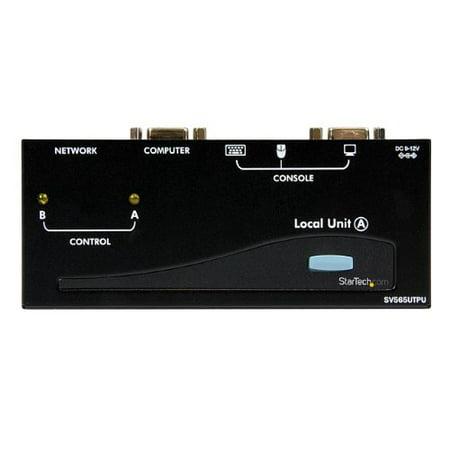 StarTech SV565UTPU VGA USB KVM Console Extender over CAT5 UTP 500-ft (Black)
