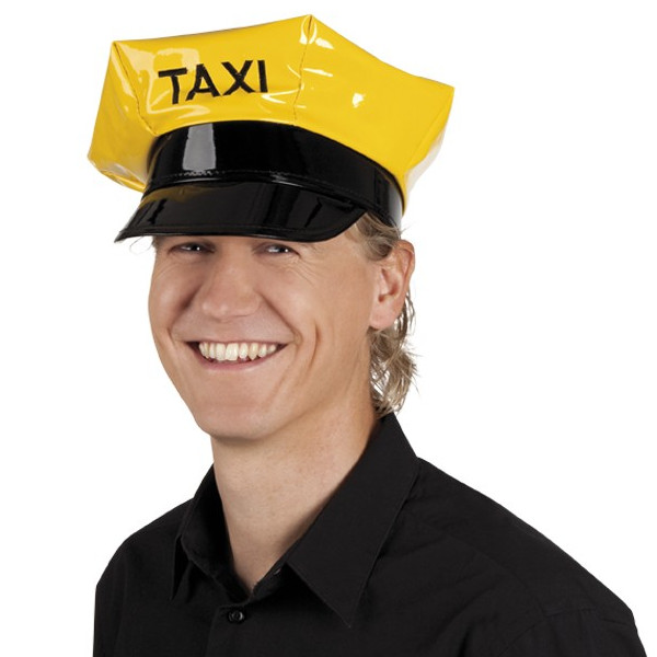 Yellow Taxi Driver Hat