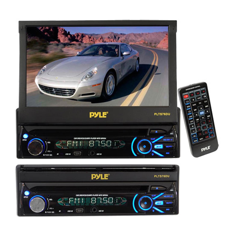 Pyle PLTS76DU) Car Video Player/Recorder