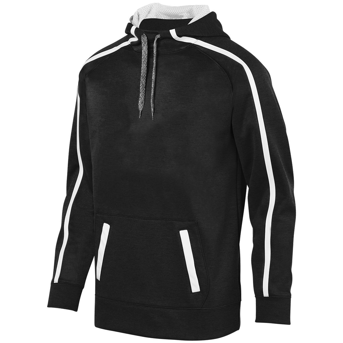 Augusta Stoked Tonal Heather Hoody Blk/Whi S - image 1 of 1