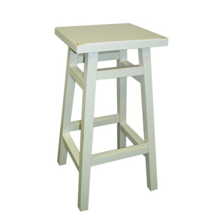 Carolina Tavern 24 in. Counter Stool - Antique White ()