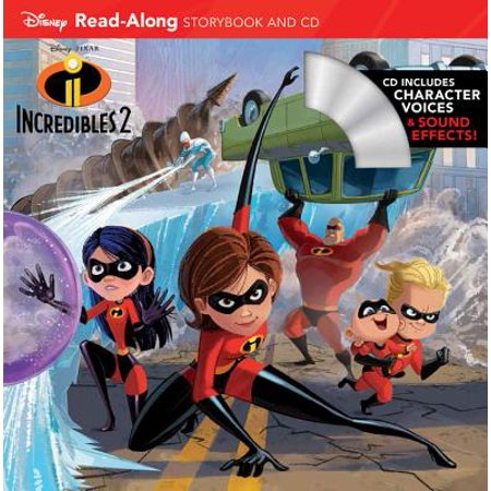 Incredibles 2 Read-Along Storybook and CD (Read-Along Storybook & (The Incredible Story Of Two Girls In Love)
