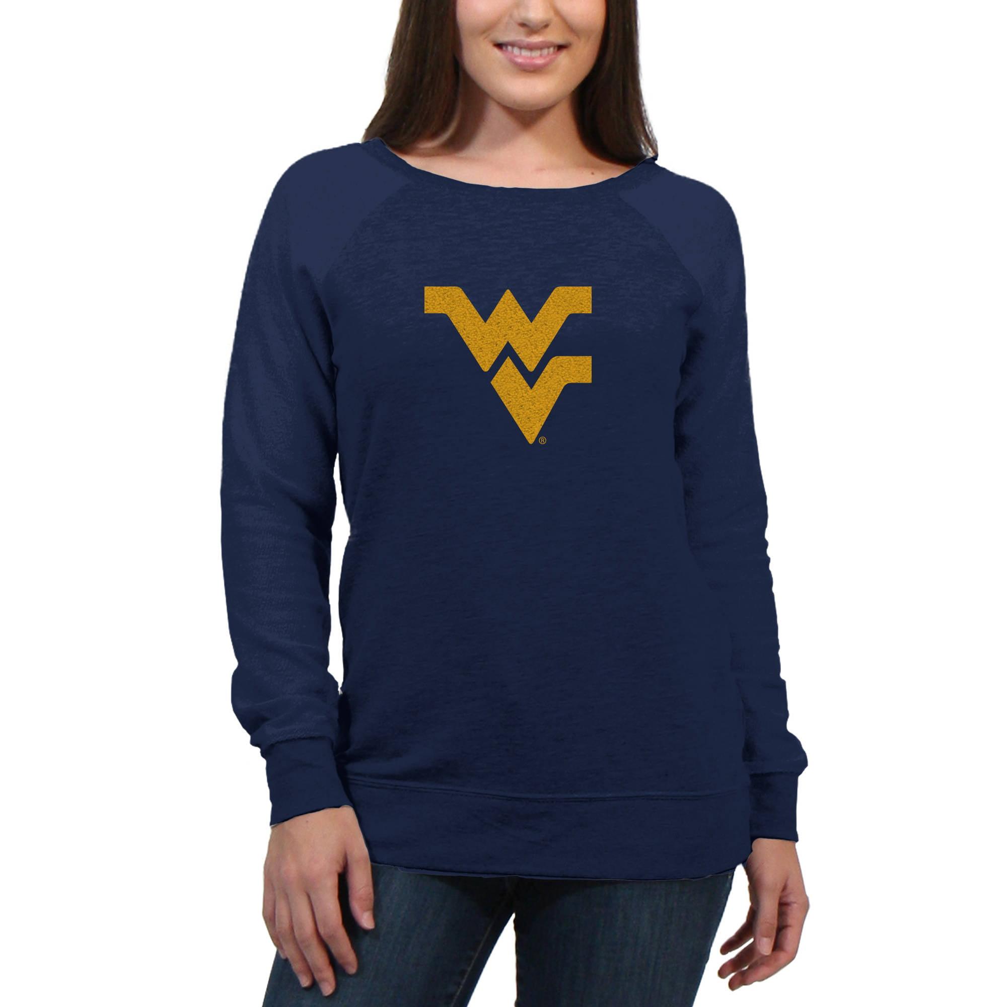 West Virginia Mountaineers Chenille Letters V2 Women's/Juniors Team Pullover Fleece