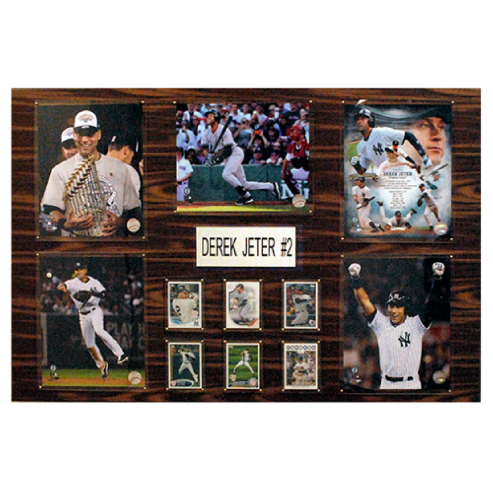C&I Collectables MLB 24x36 Derek Jeter New York Yankees Player Plaque