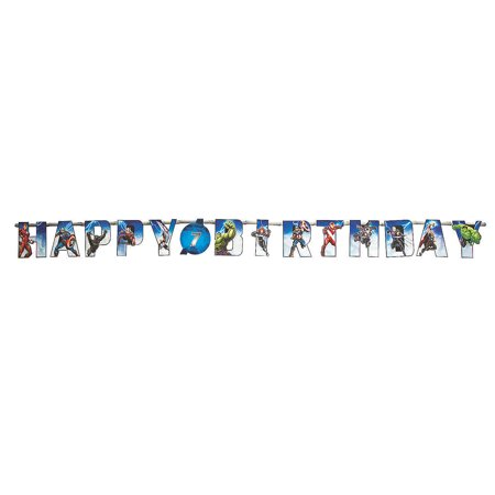 Marvel Birthday Party Supplies (Marvel Epic Avengers Add An Age Banner for Birthday - Party Supplies - Licensed Tableware - Misc Licensed Tableware - Birthday - 1)