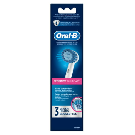 Oral-B Sensitive Replacement Electric Toothbrush Head 3