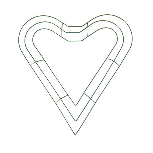 The Holiday Aisle Heart Shaped Wreath Hanging Accessory