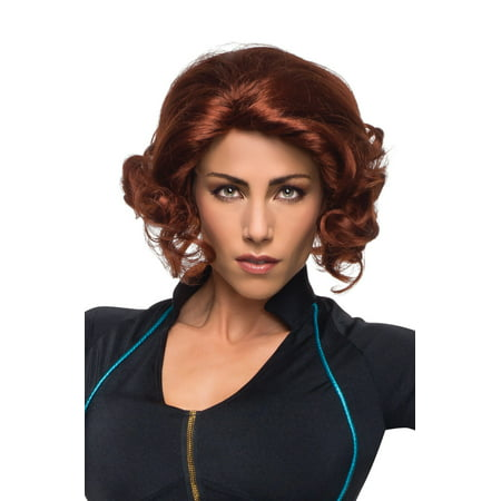 Adult Womens The Avengers 2 Black Widow Wig Costume Accessory](Red Halloween Costume Wig)